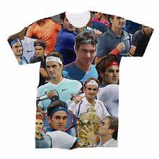 Roger Federer Collage T-Shirt