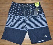 Ocean Current Board Shorts Swim Shorts Bathing Suit Stars & Stripes Size 28
