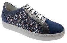 C3787 scarpa donna sneaker jeans plantare ortopedico Loren