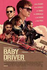 Baby Driver 2017 MOVIE POSTER A0-A1-A2-A3-A4-A5-A6-MAXI 345