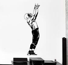 Wall Vinyl Decal Football Player Quarterback Super Bowl Decor z3981