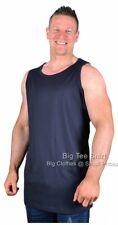 Big Mens Navy Espionage Faroe Vest  2xl 3xl 4xl 5xl 6xl 7xl 8xl