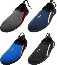 Norty Mens Water Shoes Aqua Socks Surf Yoga Exercise Pool Beach Swim Slip On NEW
