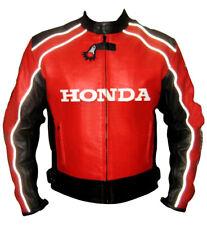 Honda Moto Giacca in pelle bovina di giacca sportiva Moto da corsa di pelle IT