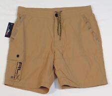 RLX Ralph Lauren Signature Khaki Shorts Swim Shorts Trunks Boardshorts Mens NWT