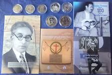 Commemorative €5 Euro/ECU Coins, Cu-Ni & Silver, BU & Proof, Various Countries