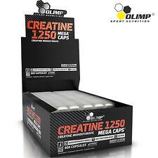 Creatine Monohydrate 30-180 Caps. Bodybuilding Muscle Development Anabolic Pills