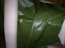 Pelle Ecologica Verde Oliva alt.145 rivest.sedia divano