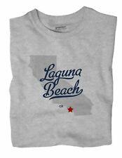 Laguna Beach California T-Shirt MAP