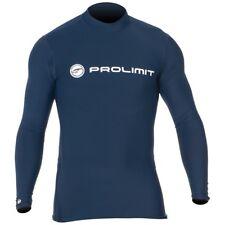 Prolimit - UV-Shirt Rashguard Lycra Badeshirt Schwimmshirt langarm dark blue