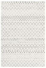Oasis Selma White Grey Tribal Rug DEFAULT CATEGORY Floor Carpet Home