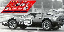Calcas Ferrari 365 GT4 BB Le Mans 1975 99 1:32 1:43 1:24 1:18 decals