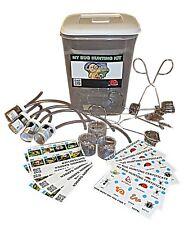 Minibeast Bug Caccia Set Inc Bug Pentole Bug pinza, insetti Pooter & Spotter carte