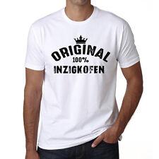 Original Inzigkofen Tshirt, Homme Tshirt Blanc, Cadeau Tshirt, Geschenk