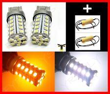 Dual Color Switchback 7443 7444 LED Turn Signal Lights & Resistors #G6