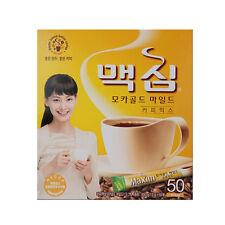 Korean Instant Coffee Mix Maxim Mocha Gold Mild 50,100, Sticks