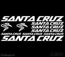 Santa Cruz Cycling Bike Stickers Set of 10 Frame Replacement Decals RoadMountain