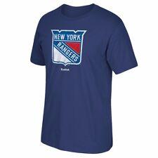 """New York Rangers Reebok """"High End Mascot"""" Team Logo Navy Blue T-Shirt Men's"""