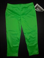 NWT Dance  Spandex Low Rise Capri Leggings Flo Green Ladies/Girls Sizes 86179