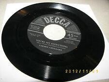 Carmen Cavallaro You Are Too Beautiful /You're My Everything 45 EX Decca 9-23796