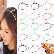 Cat Ears Headband DIY Women Girl Hairband Fashion Hair Hoop Cosplay Party Decor