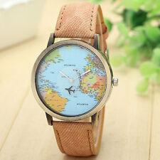 Mini World Montre Watch reloj mini Mundo Globetrotter Denim Jeans 7 couleurs