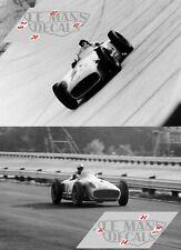 Calcas Mercedes W196 GP Italy 1955 1:32 1:24 1:43 1:18 64 87 196 decals slot