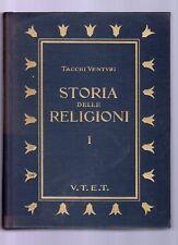 storia delle religioni - tacchi venturi -