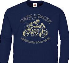 Tee shirt à manches longues CAFE RACER - Vintage Motorcycle Norton Triumph BSA