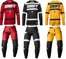 2018 Shift Black Label Strike Men's Pant & Jersey Riding Gear Combo Mx Dirtbike