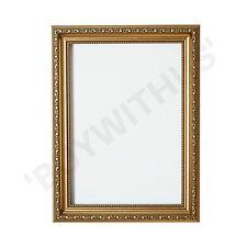 Ornate Swept Shabby Chic Picture Frame Photo Frame Poster Decor Gold Frame
