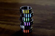 New TC4 Titanium Alloy Tritium Lamp Tube Finger Ring Night Self-luminous Ring