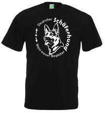 T-Shirt Deutscher Schäferhund - Mein treuer Begleiter | Hundemotiv      182-0-02
