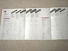 NAD audio full product line brochure catalogue