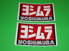 KX KXF CR CRF YZ YZF RM RMZ 85 125 250 450 YOSHIMURA EXHAUST STICKERS DECALS ^