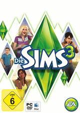 Die Sims 3 (PC / Mac DVD-ROM Game) Hauptspiel Basisspiel Grundspiel + Anleitung