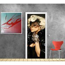 Affiche poster porte Lady Gaga 773 Art déco Stickers