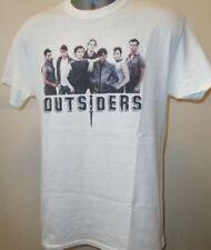 OUTSIDERS 80s Gang Brat Pack Film T Shirt tuoi amici criminali Swayze Dillon CROCIERA 162