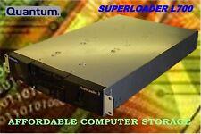 Quantum L700 Superloader 3 Tape Autoloader EC-LLKAE-YF LTO-4 SAS Ultrium-4