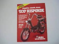 advertising Pubblicità 1979 GILERA ECO