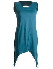 vishes Kleid Zipfel Lagenlook Hippie Tunika Goa Kleid Shirt Elfen Larp