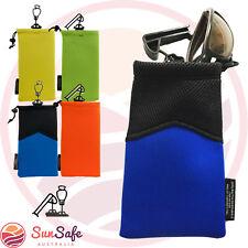 Belt Mounted Eyewear Sunglasses Bag Neoprene Glasses Case Holder Pouch Bag