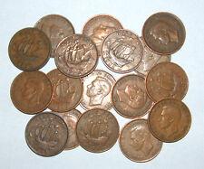 Gran Bretaña/GB 1937 1952 George VI Bronce medio-centavo Seleccione la Fecha