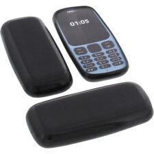 Tasche für Nokia 105 (2017) Handytasche Schutz Hülle TPU Gummi Case Bumper