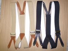 -SONDERAKTION- Hosenträger mit Knöpflöchern in verschiedenen Farben mit