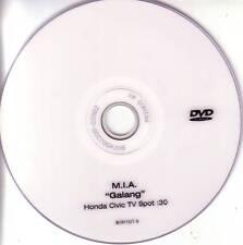 M.I.A. Galang 30 Second Spot HONDA CIVIC PROMO DVD Mia