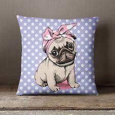 S4Sassy Coussins/couverture de chien  imprimé maison Decor coussin Blue Square