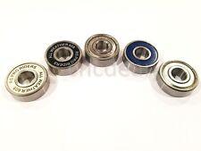 Qualità 608 CUSCINETTI 8x22x7mm ZZ & 2RS tutti i tipi CROMATO INOX Hybrid CERAMIC
