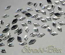 Hotfix DMC Rhombus CRYSTAL  5x10 mm Stückzahl wählbar  Glas Formen Strasssteine