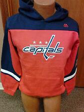 NHL Washington Capitals NEW Hooded Sweatshirt Youth Sizes S-XL NWT